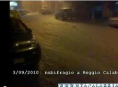 Reggio Calabria, isolata la zona nord