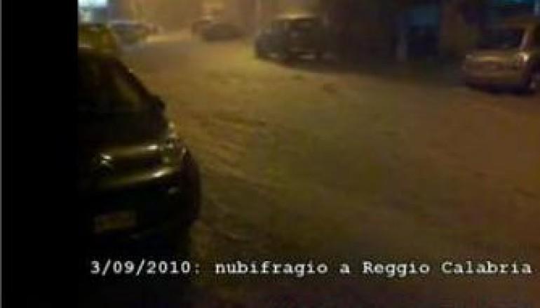 Reggio Calabria, violento nubifragio in tutta la città