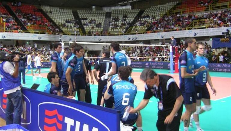 I campionati mondiali di volley maschile a Reggio Calabria