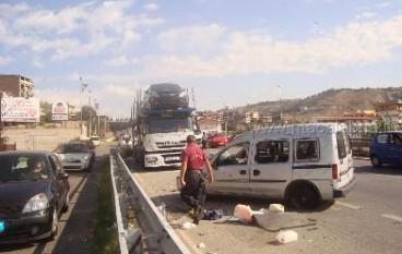 Reggio Calabria, incidente a Ravagnese sulla 106