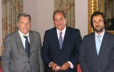 Reggio Calabria, il Presidente Morabito ha ricevuto l'Ambasciatore Greco e il Console Generale di Grecia