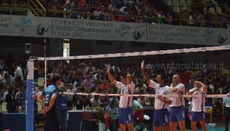 Mondiali di Volley a Reggio Calabria, altre foto della prima giornata