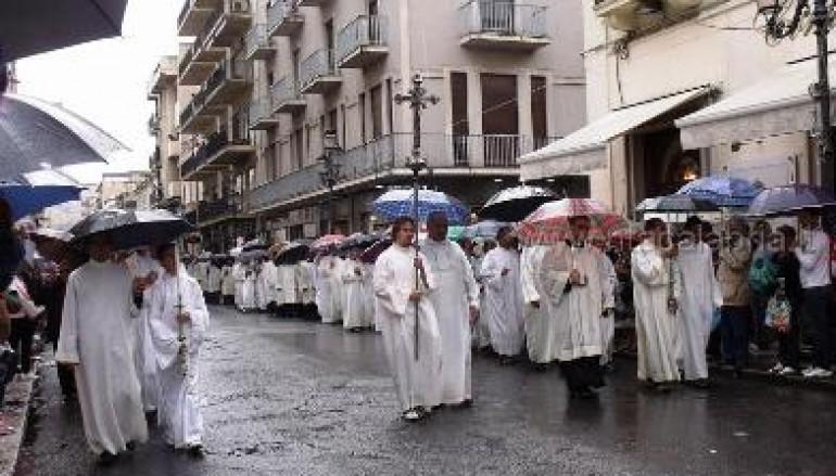 Reggio Calabria, altre foto della processione della Madonna della Consolazione