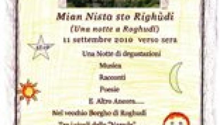 Roghudi (Rc), 25 e 26 settembre festa della Vergine Annunziata tra gastronomia e cultura