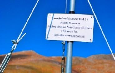 Meteo Web, Progetto Pollino: nuovamente attiva la stazione meteorologica della Piana Grande di Masistro