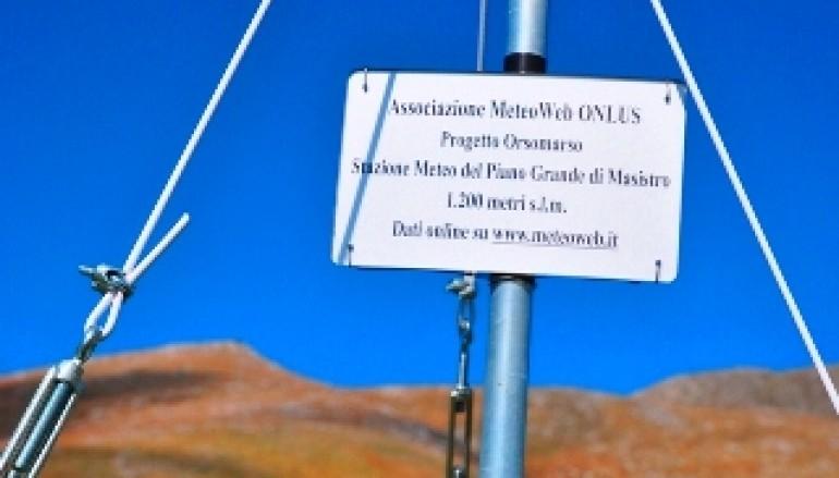 Cosenza, installata una nuova stazione metereologica nel Parco Nazionale del Pollino