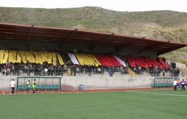 Valle Grecanica in attesa della partita contro il Real Nocera