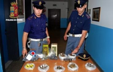 Reggio Calabria, rinvenute munizioni e polvere da sparo