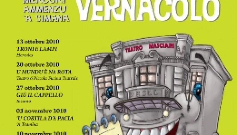 """Catanzaro, al via la rassegna teatrale con il """"Festival del Vernacolo"""""""