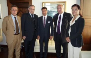 Catanzaro, l'ambasciatore della Georgia in Italia in visita alla Regione Calabria