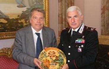"""Reggio Calabria, il presidente Morabito riceve il gen. Lusi nuovo comandante della Legione Carabinieri """"Calabria"""""""