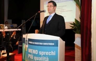 Sanità, Il Presidente della Regione Scopelliti ha presentato a Crotone il Piano di Rientro