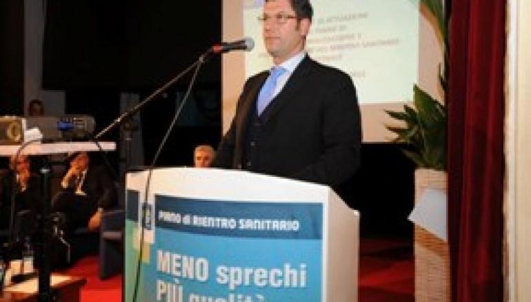 Il Presidente Scopelliti annuncia i dati sul debito sanitario