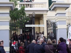 Melito Porto Salvo (Rc), la protesta sulla chiusura del punto nascita