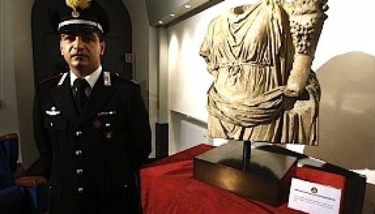 Carabiniere calabrese a New York scopre un'antica statua rubata in Italia