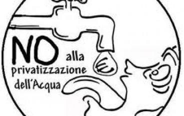 """Verso il referendum per l'Acqua Pubblica: incontro di autoformazione al c.s.o.a. """"A.Cartella"""""""