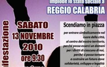 Reggio Calabria, il Terzo Settore della Provincia scende in piazza