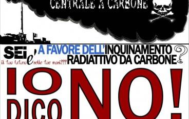 Saline Joniche (Rc), manifestazione per il No al carbone