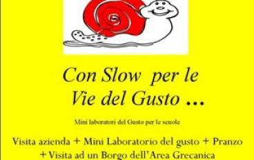 Con Slow per le Vie del Gusto