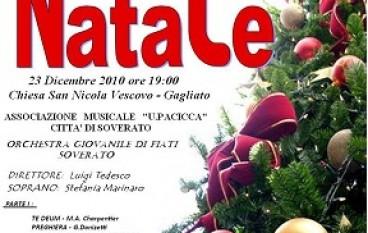Gagliato (CZ), Concerto di Natale a cura dell'Amministrazione Comunale