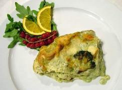 Lasagne pesto e broccoli