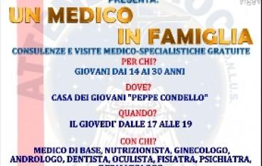"""Reggio Calabria, prenotazioni on line per l'inizativa """"Un medico in famiglia"""""""