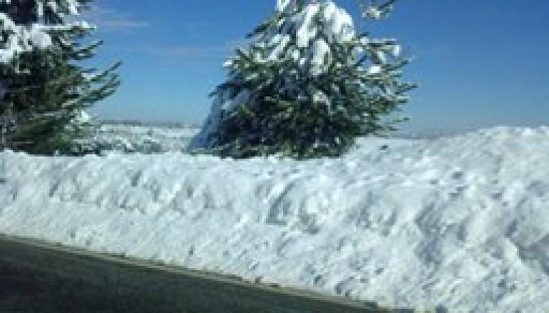 A3 Salerno-Reggio Calabria, nevica tra Cosenza e Altilia