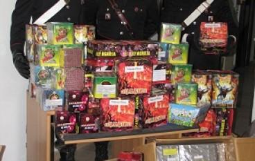 """Taurianova (RC), controlli a tappeto dei Carabinieri con sequestro dei c.d. """"Botti di Natale"""""""
