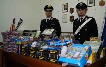 Locri (RC), sequestati oltre 500 Kg di fuochi pirotecnici