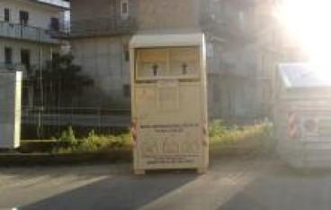 Gioia Tauro (RC), avviata la raccolta degli indumenti usati
