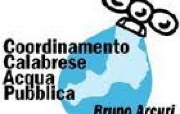 """Il Coordinamento Calabrese Acqua Pubblica """"Bruno Arcuri"""" su convegno romani di PDL e Veolia"""