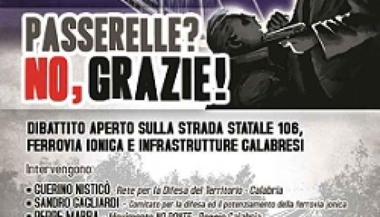 Roccella Jonica (RC), dibattito pubblico sulle infrastrutture calabresi