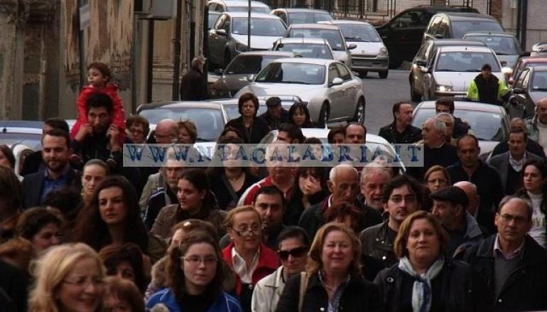 Le foto della manifestazione contro la chiusura del punto nascite a Melito di Porto Salvo