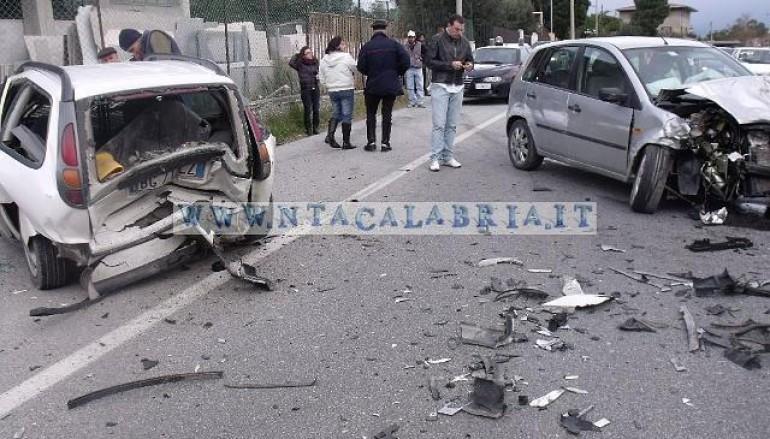 Incidente a Riace (RC), le foto