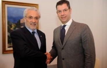 Calabria, Il nuovo Prefetto di Cosenza ricevuto dal Presidente Scopelliti