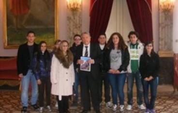 Reggio Calabria, Il Pres. Morabito incontra i ragazzi del liceo di Melito P.S.