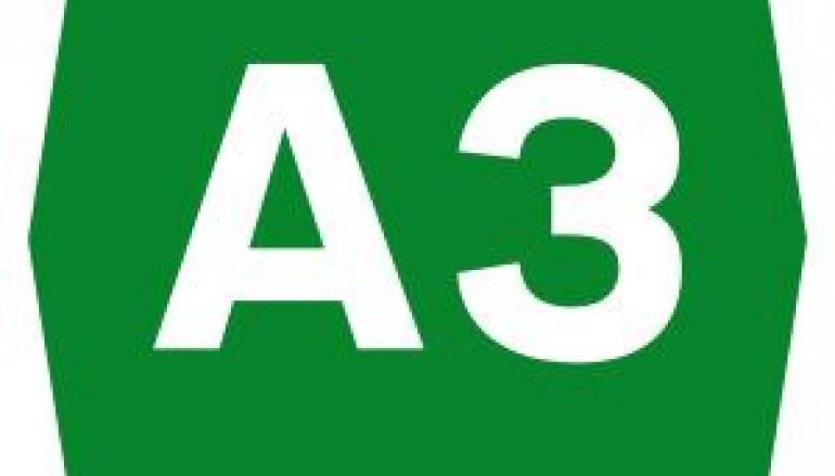 A3, chiusi al traffico svincoli di Sant'Onofrio e Rosarno