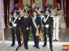 S. Ilario dello Ionio (RC), il sindaco Brizzi ringrazia il maresciallo Romano