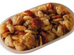 Cavolfiore con salsiccia e patate