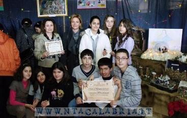 1° concorso Il presepe nelle scuole a Bova Marina, le foto