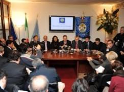 Calabria, Il Presidente Scopelliti illustra la proposta di legge regionale contro il racket