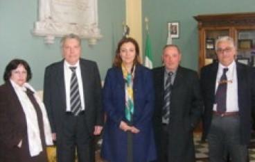 Reggio Calabria, incontro tra Pres. Morabito e il sindaco di Rosarno, Elisabetta Tripodi