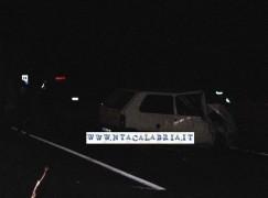 Saline Joniche (Rc), le foto dell'incidente spettacolare