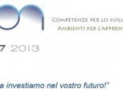 PON 2007 – 2013 – Istituto Secondario di primo grado Corrado Alvaro, Melito PS