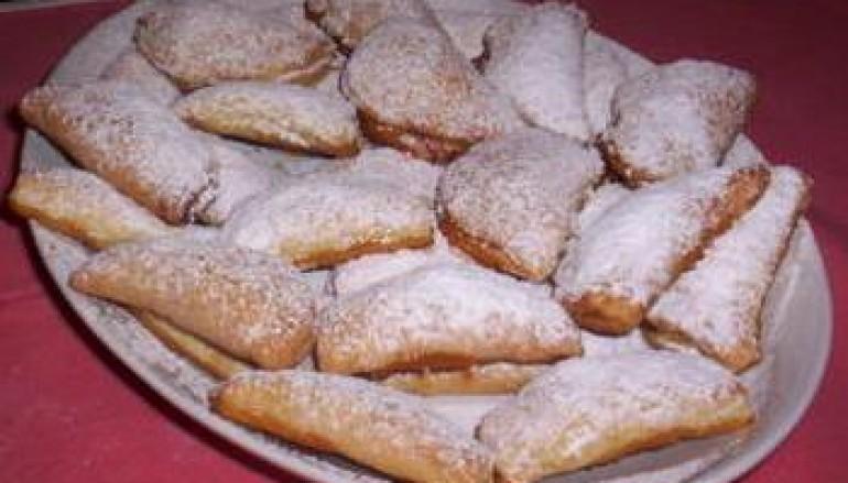 Ravioli dolci con ricotta