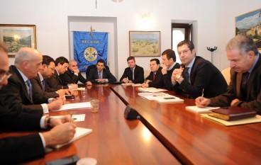 Regione, il Presidente Scopelliti ha incontrato il Sindaco Perugini per esaminare situazione Ospedale di Cosenza