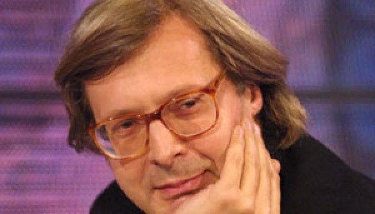 """Regione, il critico d'arte Vittorio Sgarbi al """"Villaggio Calabria"""""""
