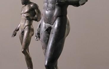 Inaugurazione della riapertura della sala dei bronzi di Riace del Museo di Reggio Calabria.