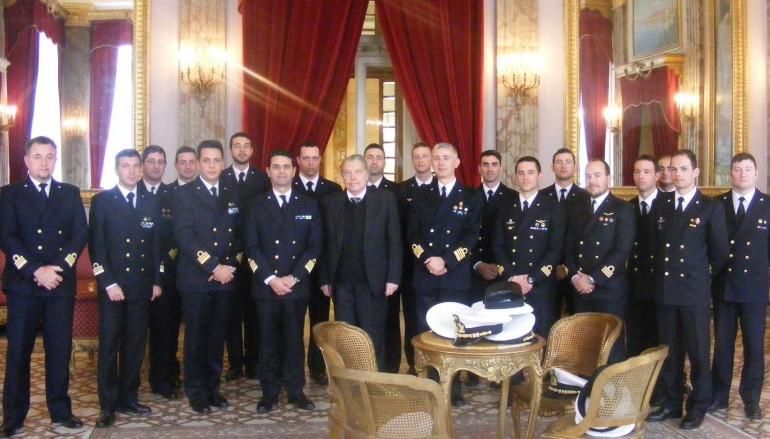 Provincia di Reggio Calabria, Morabito incontra il capitano di vascello Pasanisi
