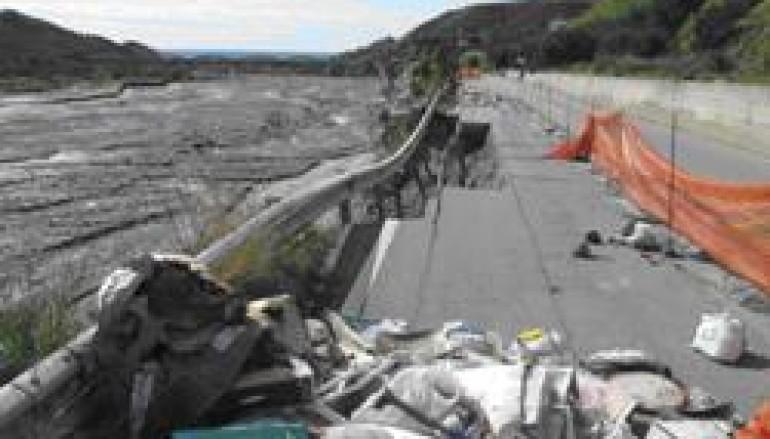 Melito Porto Salvo (RC), due anni di ritardi sulla SP3 lungo il rettilineo di Prunella